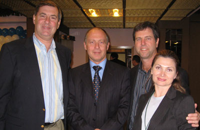Eric Donnenfeld, Elena Vialov и Kerry Solomon (Москва, 2008г.)